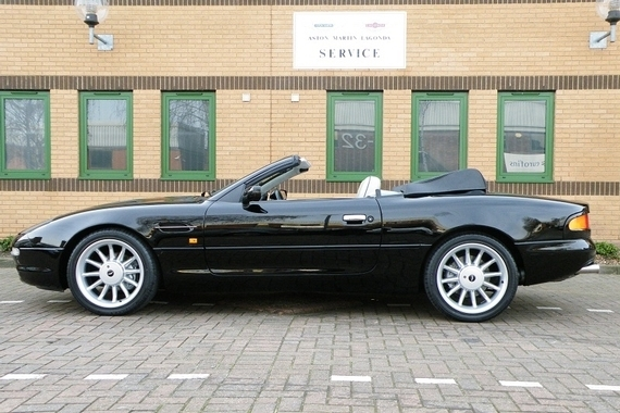 Aston Martin DB7 Volante. Stratstone of Mayfair Limited Edition